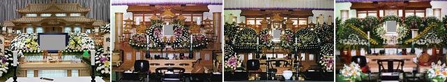 生花祭壇一覧